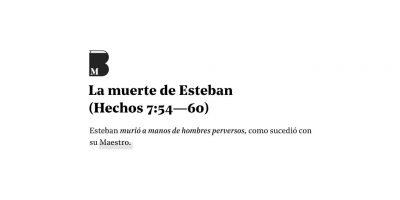 Apedreamiento de Esteban