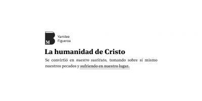 La humanidad de Cristo